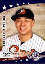 2017 Atlantic League All-Stars Choice #18 Angelo Songco Rathdrum Idaho ID Card