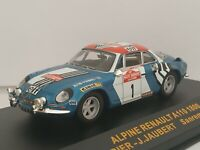 1/43 ALPINE RENAULT A110 1800 THERIER 1973 RALLYE IXO RALLY CAR ESCALA DIECAST