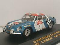 1/43 ALPINE RENAULT A110 1800 THERIER 1973 RALLYE IXO RALLY CAR ESCALA DIECAST