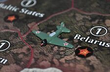 Axis & Allies Parts/Pieces Custom Painted Russian Tatical Bomber