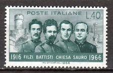 Italy - 1966 Heroes - Mi. 1218 MNH