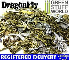 Set 85gr. - medium DRAGONFLY Beads Mix - Jewelery Making - Charms & Pendant