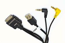 CABLE USB / vídeo / audio para MP3 Ipod Iphone para KENWOOD KCA-IP302
