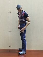 "NEW 1/6th Scale Tee Short Sleeves T-Shirt+Jeans+Belts For 12"" Male Action Figure"