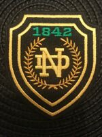 "Notre Dame Fighting Irish Vintage Embroidered Iron On Patch 3"" x 2.5"" Awesome"