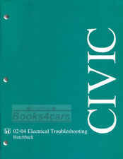 HONDA CIVIC SHOP MANUAL ELECTRICAL SERVICE REPAIR BOOK Si HATCHBACK 2002-2004 03