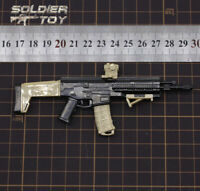 "Free Shipping 4D 1/6 Scale Bushmaster ACR Assault Rifle Weapon Gun f/ 12"" Figure"