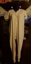 Vintage Mens Jc Penny Co. Union Suit Size 46 Cotton Long Johns