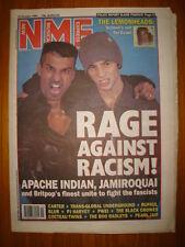 NME 1993 OCT 16 APACHE INDIAN JAMIROQUAI PEARL JAM BLUR