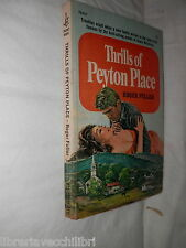 THRILLS OF PEYTON PLACE Roger Fullr Pocket Books 1969 new yorkromanzo di fiction
