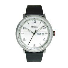KIENZLE Herren Armbanduhr Day/Date, Lederband, Slim, Modell K15-00954 € 99,00