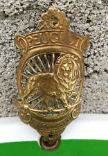 RARE plaque VELO PEUGEOT vers 1905 old french vintage bike eroica