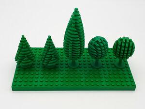 LEGO® 3x City Baum Laubbaum grün Grünzeug Landschaftsbau Wald Park Figur Bäume