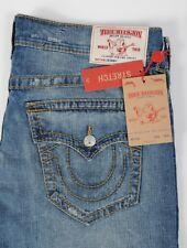 NEW True Religion Jeans STRETCH Skinny Flap Fossl Silk BIG T size 38 Men's