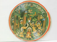 Record Guild Of America (picture - cardboard disc) 78 Ten Little Indians   VG-.G