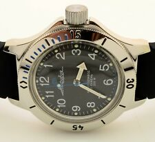RUSSIAN VOSTOK   AMPHIBIA 120811 AUTO MILITARY DIVER WRIST WATCH  NEW