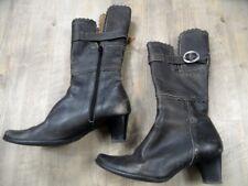 LISA TUCCI stylishe Stiefel grau Gr. 37 TOP  ZC917