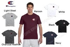 NEW Original Champion Men's Classic Jersey Script T-shirt Large C Logo