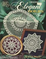 Elegant Doilies Jo Ann Maxwell Thread Crochet Instruction Pattern Book ASN 1158