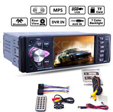 """4.1"""" HD Car Stereo Radio MP5 Player Unit Bluetooth DVR input With Backup Camera"""