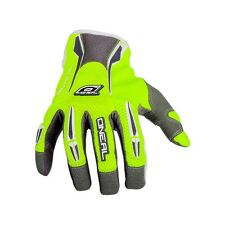 GUANTES oO ' NEAL REVOLUTION GLOVE 2016 color GRIS-AMARILLO FLUO tamañO M