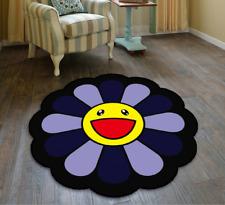 Mat Takashi Murakami Sunflower Cool Floor Rug Carpet Room Doormat Non-slip Chair