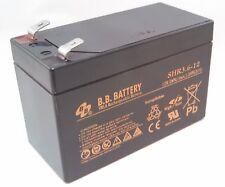 New BB SHR3.6-12 12V 3.6Ah High Rate SLA Battery F2 / T2 Terminals CPS3.6-12