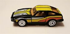 Matchbox Datsun 280 ZX 2+2 Black With Yellow Stripes - Nice Condition
