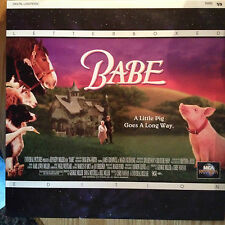 Babe Letterboxed Laserdisc LD  Disc