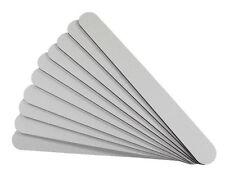 10 Feilen, Weiss, Körnung 240/240, gerade Form, Feile, Nagelfeile, Nailart, Weiß