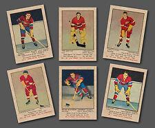 1951-52 Parkhurst Complete Set Reprint, (105 cards) Mint, in pocket sheet album