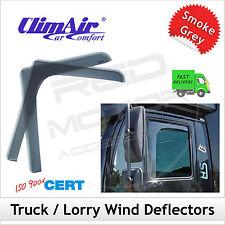 CLIMAIR Truck Wind Deflectors VW VOLKSWAGEN LT Mk2/2D 1996-2006 FRONT Pair NEW