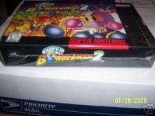 Super Bomberman 2 (Super Nintendo) new snes factory sealed