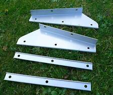 Stainless Front Mud Flap Brackets & Stiffeners MTC3000 for Land Rover Defender