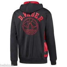 RARE~Adidas STAR WARS DARTH VADER HOODED Track Top Sweat shirt Hoody Jacket~Sz S