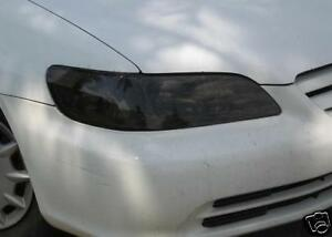 PRECUT VINYL TINT SMOKE OVERLAYS FOR 98-02 ACCORD HEAD LIGHT