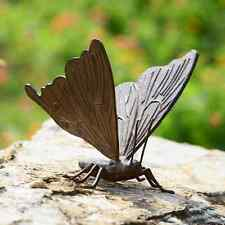 "Large Butterfly Metal Sculpture Statue Garden Yard Pool Decor Ind/Outdoor 8.5""W"
