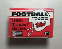 1989 TOPPS TRADED Football Factory UNOPENED Set out of case SANDER RC F6020606