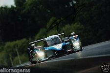 "Le Mans Driver Franck Montagny Hand Signed Photo Peugeot Sport 12x8"" AH"