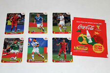 Panini WC WM BRASIL 2014 14 – SET all alle 6 COCA COLA EXTRA STICKERS A-F