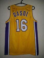 Shirt NBA Los Angeles Lakers Basketball Jersey #16 Gasol Champion