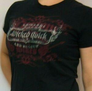 ROCK & ROLL HALL OF FAME AND MUSEUM Custom Bikes & Guitars Black 16 x 24 T-Shirt