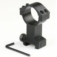 1x High Profile 30mm Scope Ring 21mm Picatinny Weaver Rail Mount For Flashlight