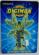 DIGITAL DIGIMON MONSTERS VTG 1999 ANGEMON WALL STICKER GLOWS IN THE DARK MOSC