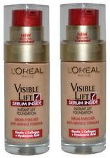(2 PACK) L'Oréal Visible Lift Serum Foundation 30ml- 120 Rosy Porcelain