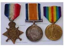 Britain WW1 Victory Interallied War Medal Star set British Army Royal Artillery