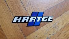 Hartge Badge Emblem BMW E21 E24 E30 E23 E12 E28 E34 BLUE Euro RARE