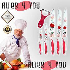 Design 6-teiliges Messerset Küchenmesser Schälmesser Messer Kochmesser TOP HS036