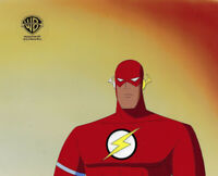 Warner Brothers Animated Series Original Production Cel Flash-Speed Demons