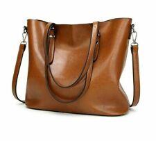 Women's Tote Fashion Luxury Handbag Large Bucket Leather Shoulder Messenger Bags